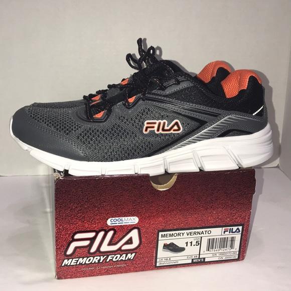 Fila Memory Foam Men's Sneakers Size 11.5 New NWT